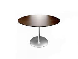 RONDETAFELS_Ronde tafel met fineerblad