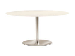 RONDETAFELS_Ronde of ovale tafel met volkernblad
